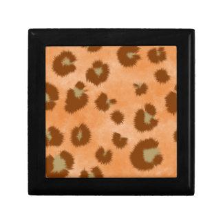 leopard spot pattern gift box