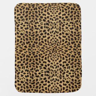 Leopard Spot Skin Baby Blanket