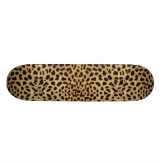 Leopard Spot Skin Print Skate Decks