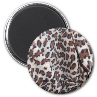 Leopard Spots 6 Cm Round Magnet