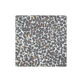 Leopard Spots Stone Magnet