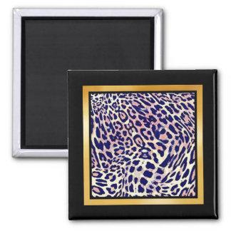 Leopard Spots Mix & Match Collectables - Square Magnet