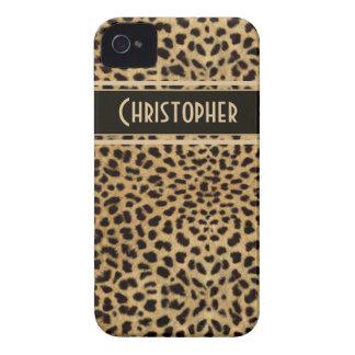 Leopard Spots Pattern iPhone 4 Cases