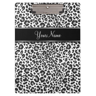 Leopard Spots Stylish Clipboard