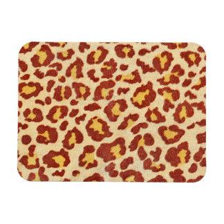 Leopard Spots Ultrasuede Look Flexible Magnets