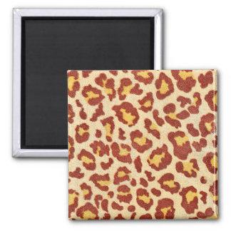 Leopard Spots Ultrasuede Look Magnet