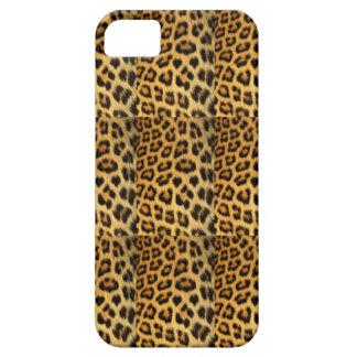 Leopard Spots Wild Cat Faux Fur iPhone 5 Case