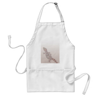 Leopard Spotted Gecko on Sand Adult Apron