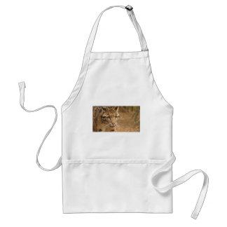 leopard standard apron