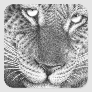 Leopard Sticker