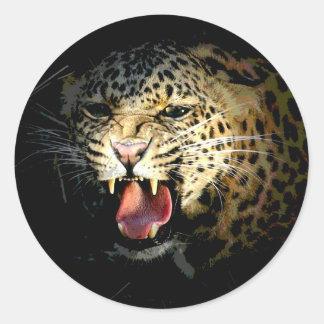 Leopard Sticker