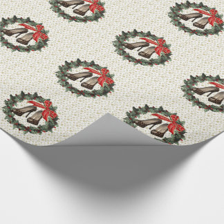 Leopard Stiletto Shoes Wreath Wrapping Paperd Wrapping Paper
