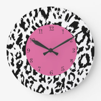 Leopard Style Wall Decor Clocks