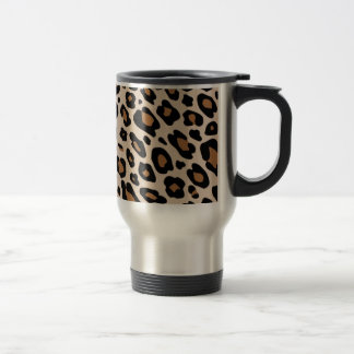 Leopard TON of GO Stainless Steel Travel Mug