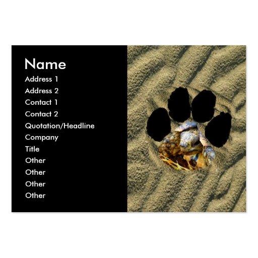 Leopard Tortoise Business Card