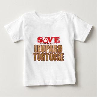 Leopard Tortoise Save Baby T-Shirt