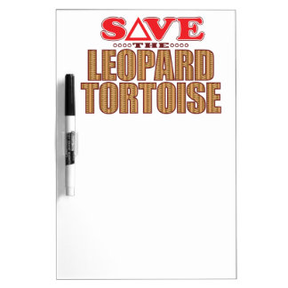 Leopard Tortoise Save Dry-Erase Whiteboards