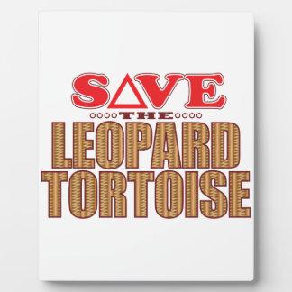 Leopard Tortoise Save Plaque