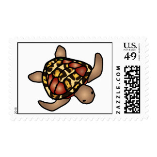 Leopard Turtle Stamp Postage