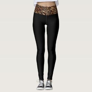 (leopard waist) leggings