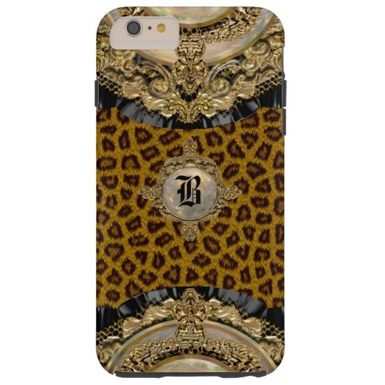 Leopard Wildroyce 6/6s Elegant Monogram Plus Tough iPhone