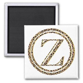Leopard Z Magnet