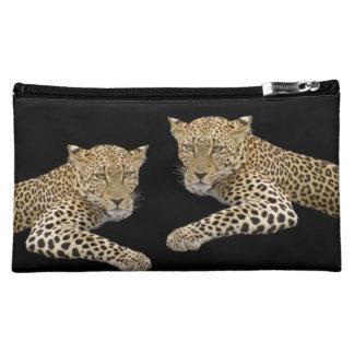 Leopards Medium Cosmetic Bag 8x5 in