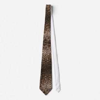 Leopards Skin Neckties