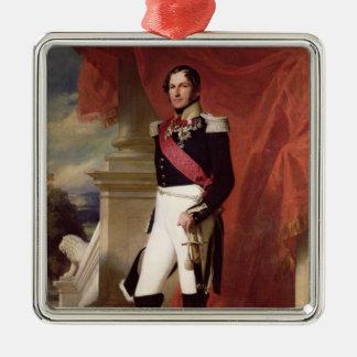 Leopold I  1840 Silver-Colored Square Decoration