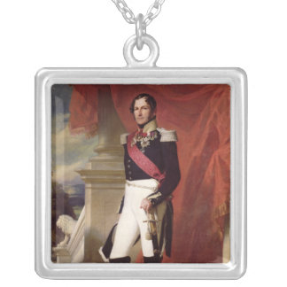 Leopold I  1840 Silver Plated Necklace