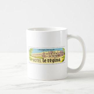 Leopoldville Hotel Le Regina, Vintage Coffee Mugs