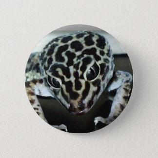 Lepard Gecko 6 Cm Round Badge