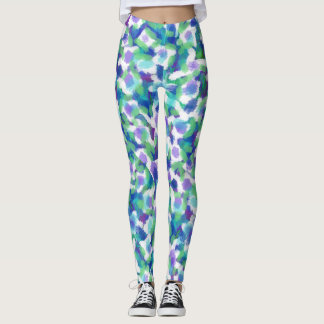 LEPOARD COLOR DOTS LEGGINGS