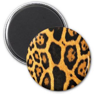 Lepoard Fur Pattern 6 Cm Round Magnet