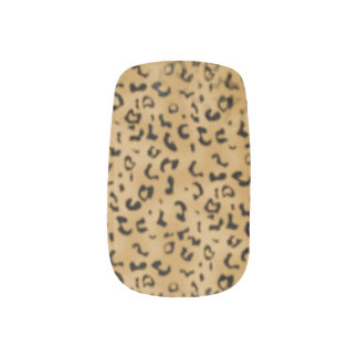 Lepoard Print Nail Art