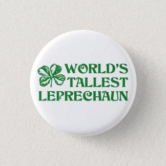 Leprechaun 3 Cm Round Badge