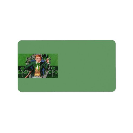 Leprechaun Address Label