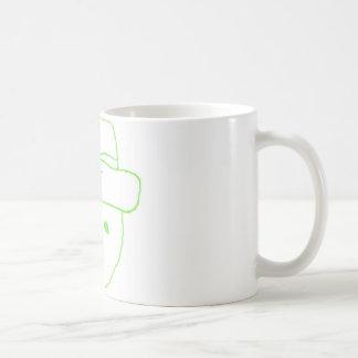 Leprechaun Amateur Sketch Basic White Mug