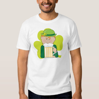 Leprechaun And Beer T Shirts