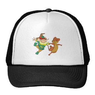 Leprechaun And Mouse Dancing Hats