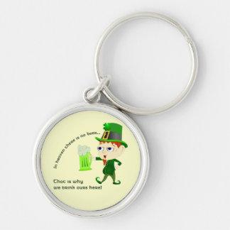Leprechaun Beer St. Patrick's Day Keychain