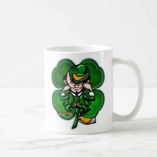 Leprechaun Clover Mug