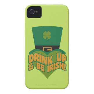 Leprechaun custom Blackberry case