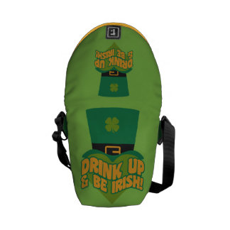 Leprechaun custom messenger bag