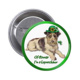 Leprechaun Dog Pin