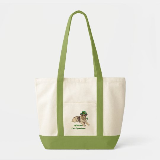 Leprechaun Dog Tote Bag