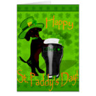 Leprechaun Doxie Card
