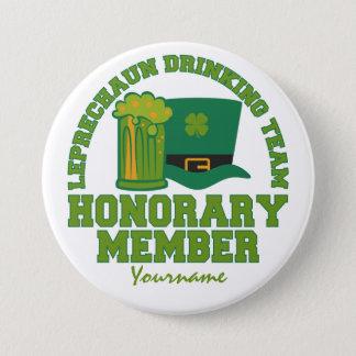 Leprechaun Drinking Team custom button