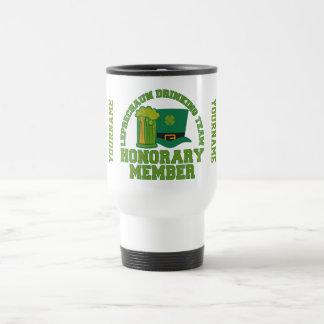 Leprechaun Drinking Team custom mugs