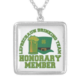 Leprechaun Drinking Team necklace